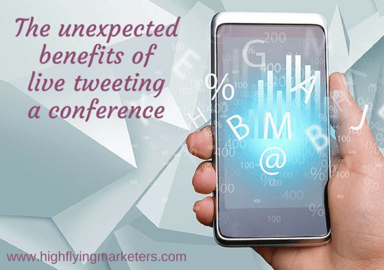 Live tweeting was exhausting as it was fun. Trying to capture and distill each speaker's thoughts into 140 character sound bites (at speed), is tough! But I also discovered some unexpected benefits that make me want to live tweet at every conference I attend in future. Read how you could benefit from live tweeting an event.