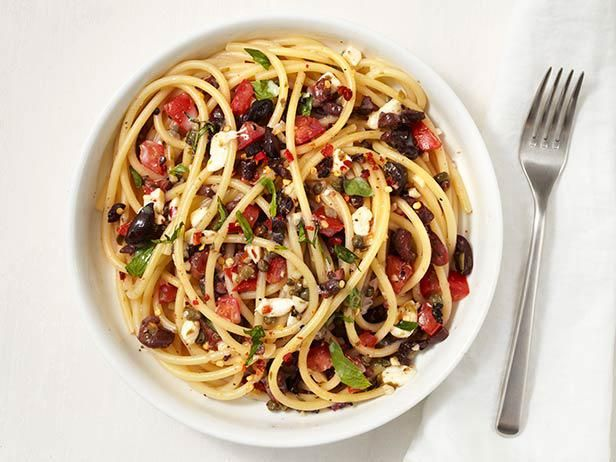 Pasta is a weeknight dinner standby. Try a new one sauced with salt capers and olives, fresh summer tomatoes and mozzarella.