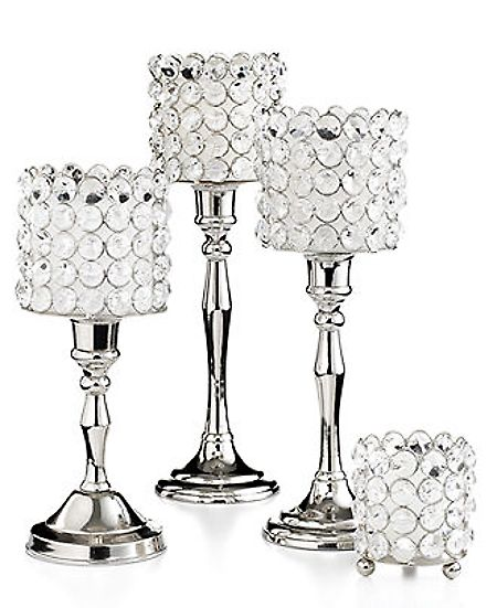 Leeber Candle Holders, Sparkle Collection  Cand...
