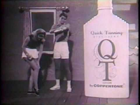 """QT- Quick Tan meant """"ORANGE"""" - found this out in 7th grade, when I woke up orange and still had to go to school;("""