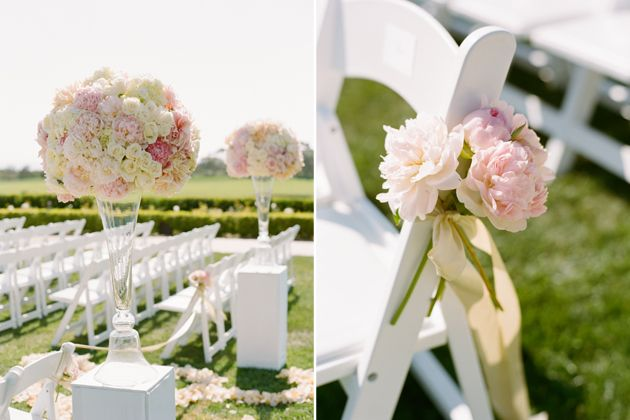 A Timeless Blush-and-Gold Wedding In California