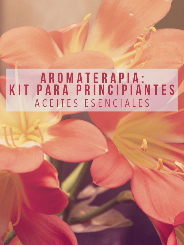 Averigua cuáles son los mejores productos de aromaterapia para principiantes.