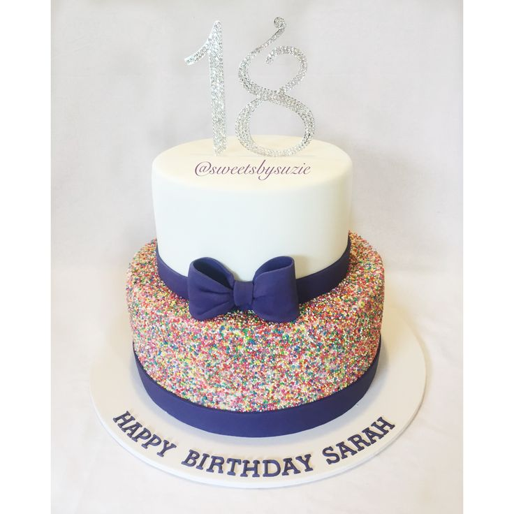 18th Birthday Cake 100's & 1000's Made By SweetsBySuzie In