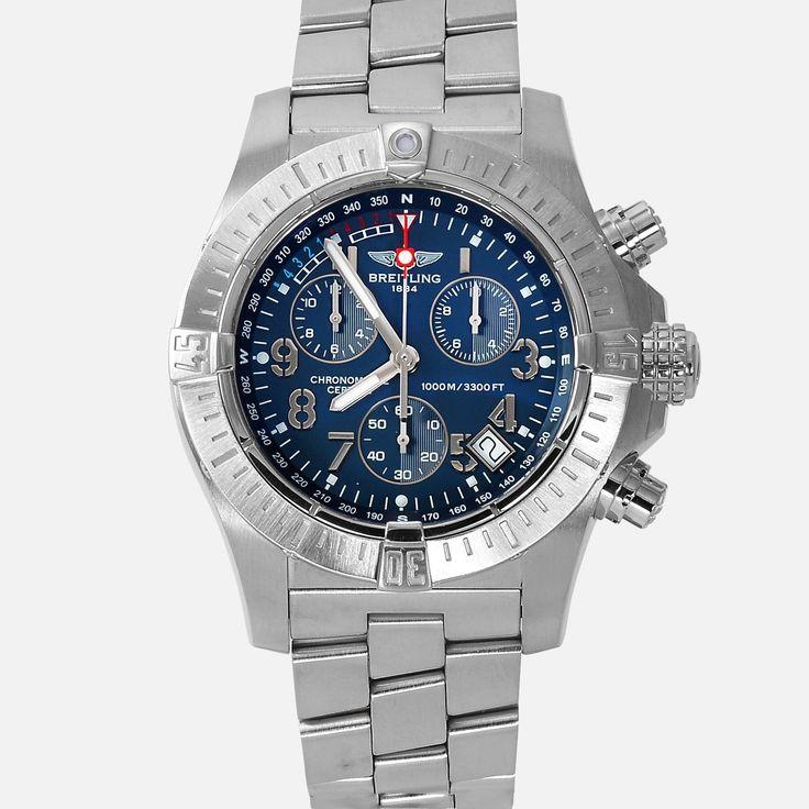 Breitling Avenger Seawolf Chronograph Blue Dial A73390