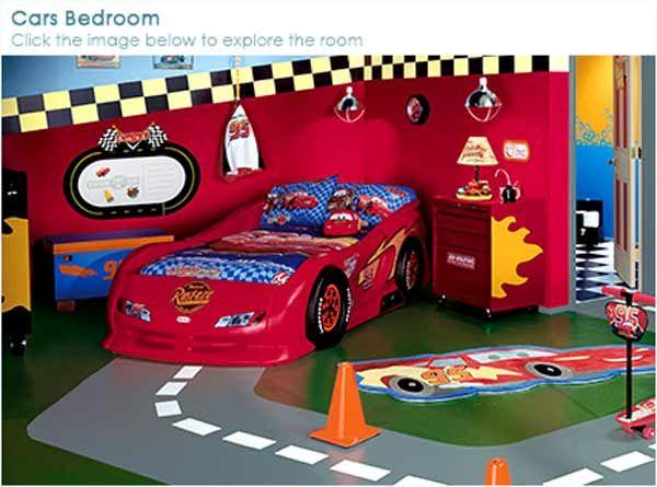 boycarthemedroom boys bedroom decor young pirate superman - Boy Room Decor