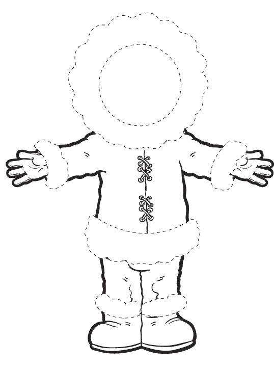 Werkblad motoriek: Eskimo