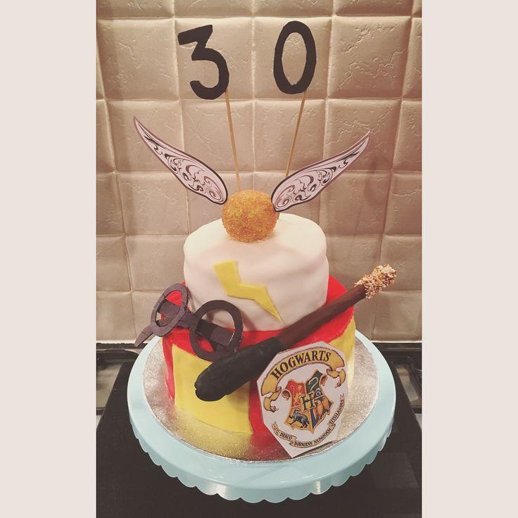 Harry Potter 30th birthday cake