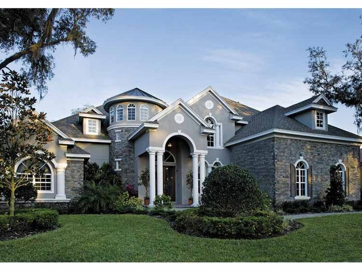 Eplans European House Plan   Four Bedroom European   5196 Square Feet And 4  Bedrooms From Eplans   House Plan Code