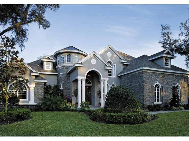 Best Dream House Plans Images On Pinterest Dream Houses - European homes and house plans