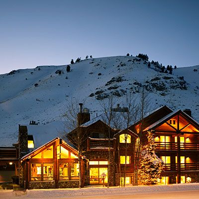 Rusty Parrot Lodge, Jackson Hole, WY - Best B and B Accommodations - Sunset