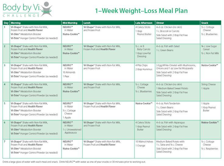 plan de comidas de atkins