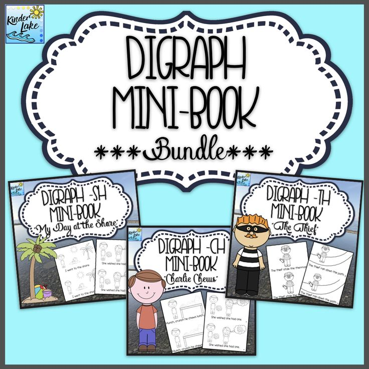 Need digraph reading practice? These easy to assemble mini books follow a plot while using words with digraphs. This emergent reader is perfect for whole or small group.