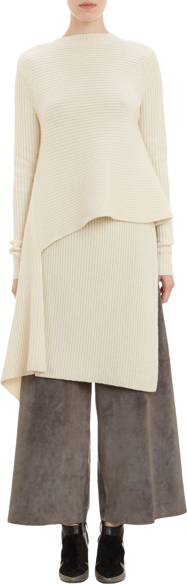 Derek Lam Origami-Wrap Sweater at Barneys.com