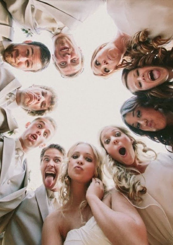 funny and creative wedding photos ideas