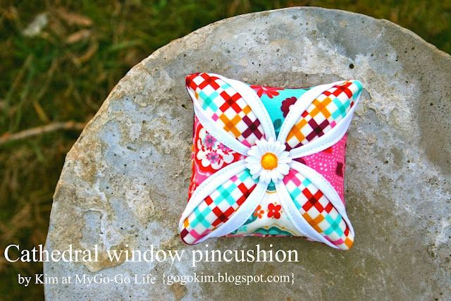 adorable pincushion, make it big for a cool pillow