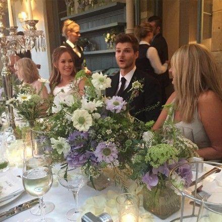 Tanya Burr Wedding... Those flowers