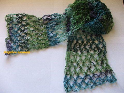 solomon`s knot scarf