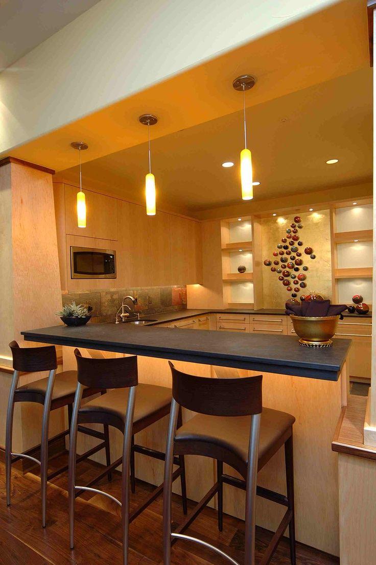Home bar lighting - 20 Modern Home Bar Designs For Your Home