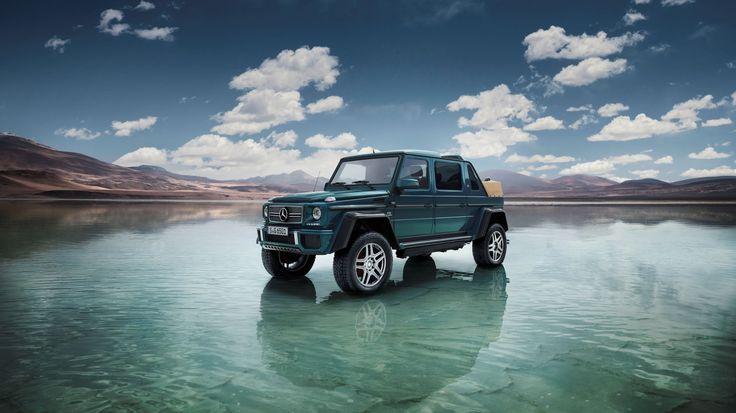 Alleen nog een ingebouwde stofzuiger voor al het woestijnzand Het bericht De Mercedes-Maybach G650 Landaulet is officieel onthuld verscheen eerst op TopGear.
