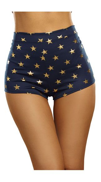 Super Star Justice Costume Shorts