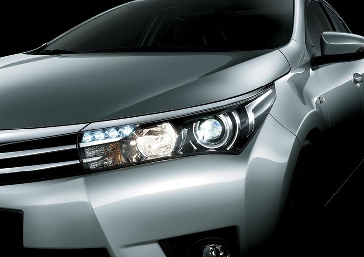 All New Corolla Altis 1800 G Front Lamp