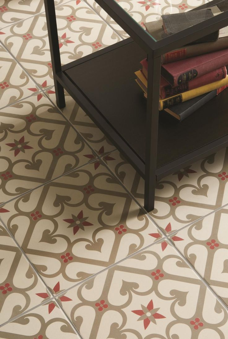 Epoque Rose floor tiles from originalstyle.com