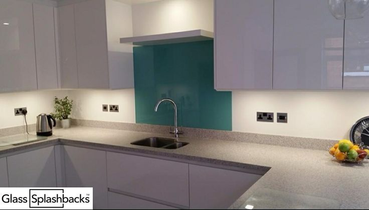 Glass Kitchen Sink Splashback