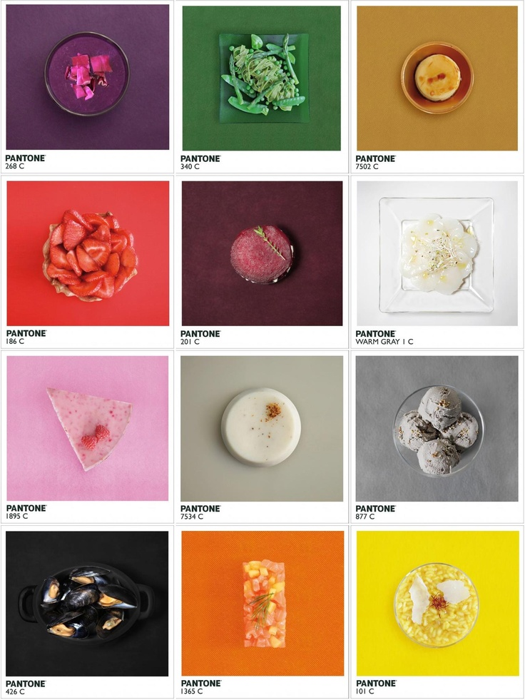 Pantone color inspiration.                                                                                                                                                                                 More