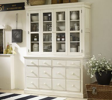 English country buffet potterybarnbuilt with the generous for English country furniture