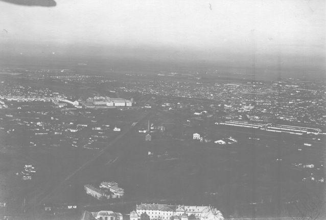 Vedere spre Fabrica de tutun Belvedere 1927