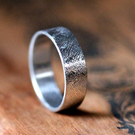 Palladium wedding band mens wide wedding ring by metalicious