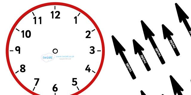 Twinkl Resources >> Blank Analogue Clocks (With Hands) >> Thousands of ...