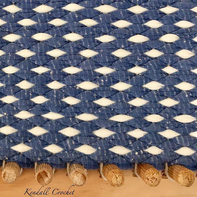 #kendallcrochet #tshirtyarn #ragrug #retro #weaving #crochet #crochetrug #knitting #crochetbasket