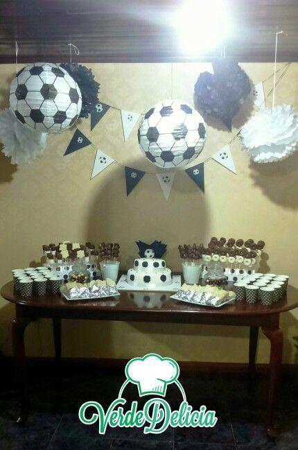 Fútbol blanco y negro