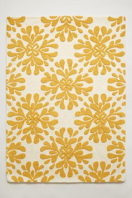 Coqo Floral Rug - anthropologie.com