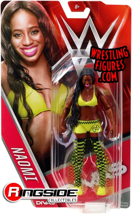 Naomi - WWE Series 56 WWE Toy Wrestling Action Figure by Mattel