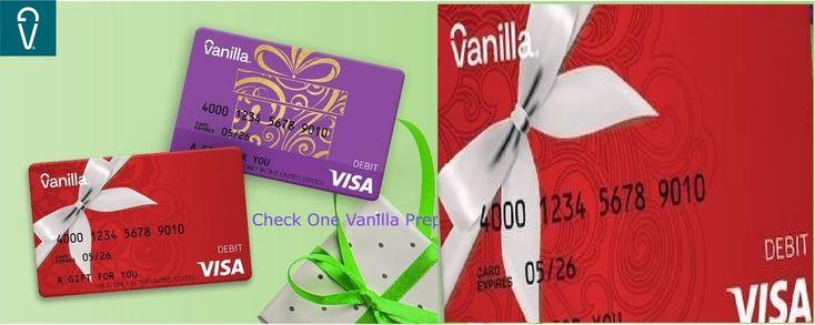 One vanilla balance onevanilla prepaid visa card