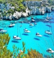 Paxos island, Ionian sea Greece