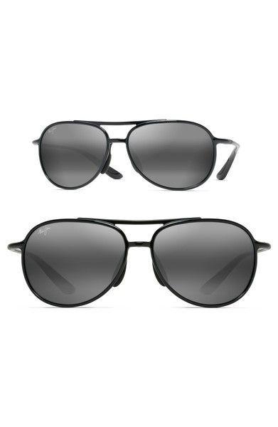 Main Image - Maui Jim Alelele 60mm Aviator Sunglasses - Sale! Up to 75%  OFF! Shop at Stylizio for women s and men s designer handbags e13eacfe7504