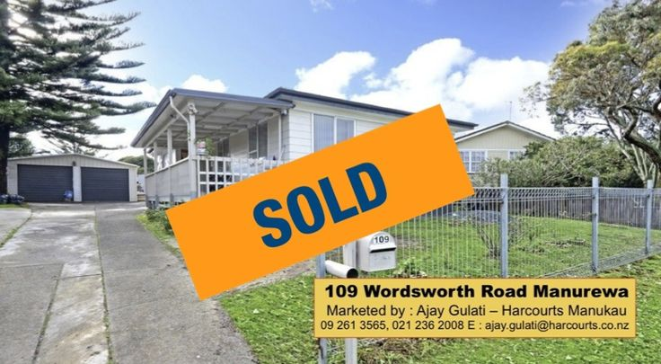 SOLD . List & Sell with Ajay Gulati . I get RESULTS.  #sold #morewanted #listwithme #getresults #realestate #harcourtsManukau #ajaygulati