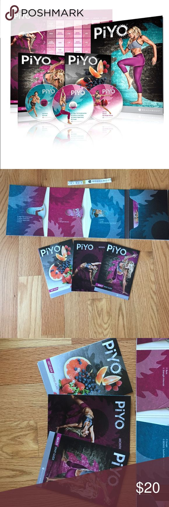 PiYo exercise DVD Never taken out of box PiYo Base kit. 3 DVD workouts, fitness tools and nutrition guide Other