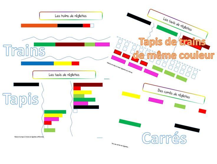 Les réglettes Cuisenaire : phase qualitative - dys é moi Zazou et Madel