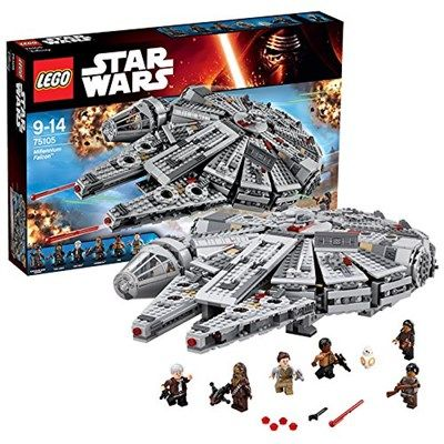 millennium falcon de lego star wars rf 75105 moins cher en ligne dimension