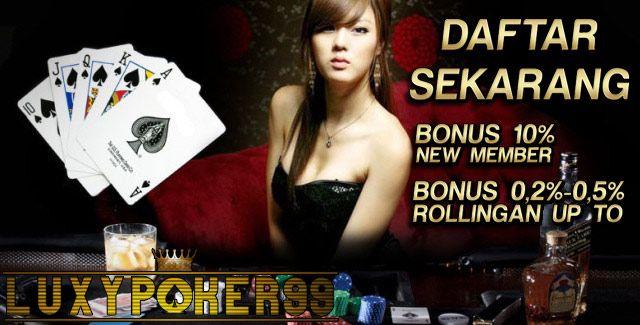 Pada kesempatan kali ini kami agen judi luxypoker99 akan memberikan trik agar anda bisa memenangkan permainan didalam agen judi poker online.