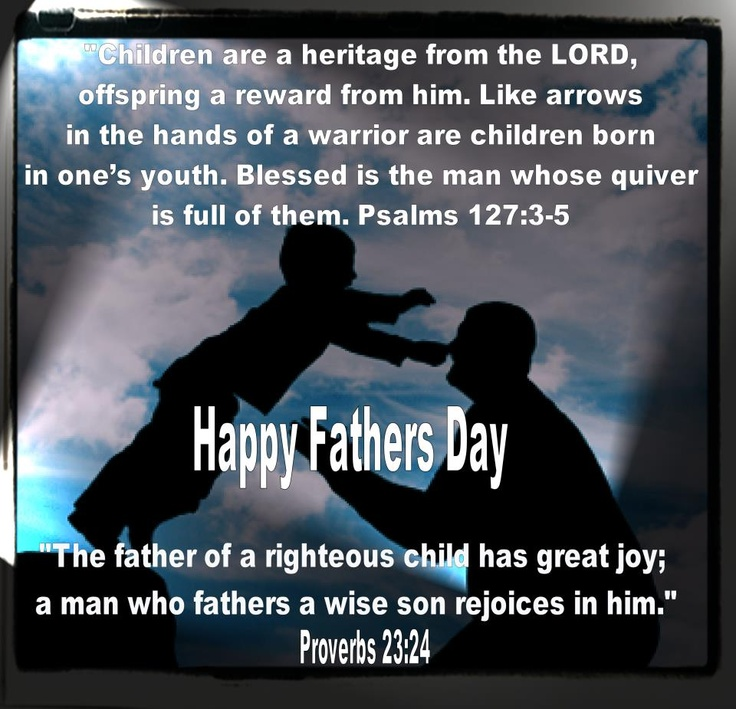 father's day bible verses king james version
