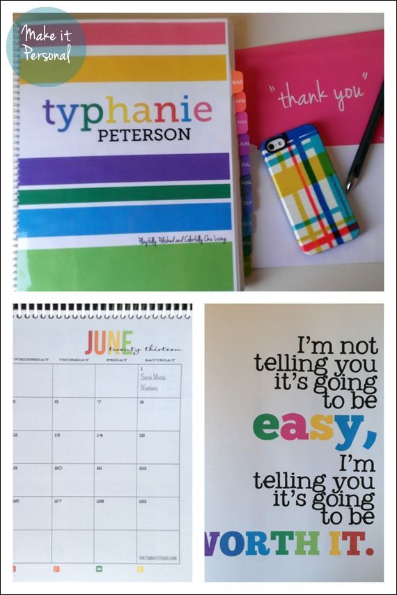 DIY Personalized Life Planner - I need to personalize and make my own Erin Condren look alike planner!