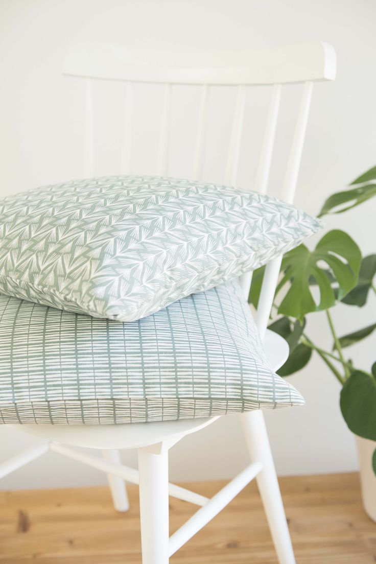 #pillows #chair   Dille & Kamille