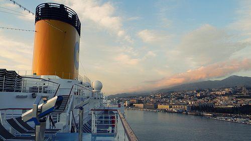 Cruise with Costa Deliziosa; Si attracca a Messina