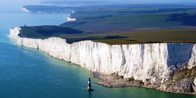 This is definitely the number one thing to see when visiting Eastbourne. Beachy Head is the highest chalk cliff in the whole of Britain, an astonishing 531 feet. Being so high, it offers absolutely stunning views of the south east coast.