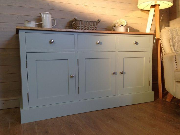 Pine Sideboard Shabby Chic Farmhouse Furnishings